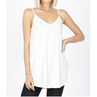 Reversible Ivory Flowy Cami